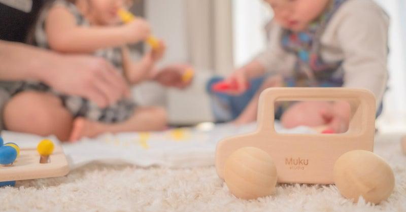「おもちゃに遊ばれないで、自由に遊びを創りだせるおもちゃを」