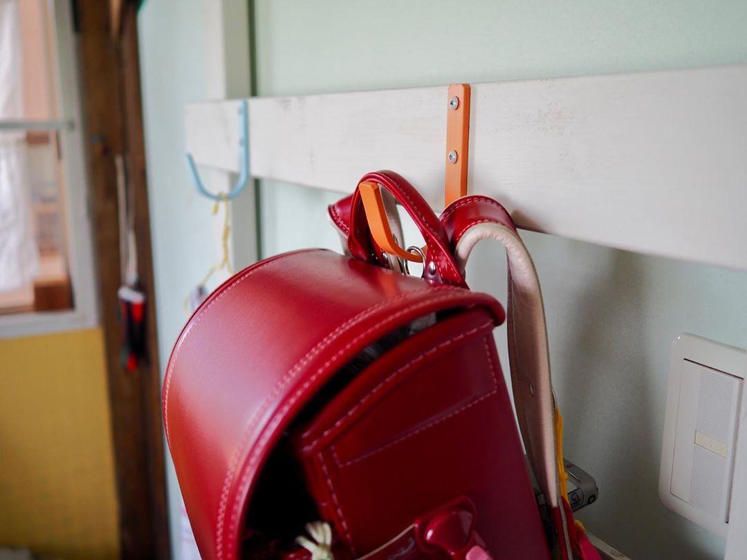 TANNER #1 Hookのランドセル掛け、おしゃれで可愛いインテリアになります!