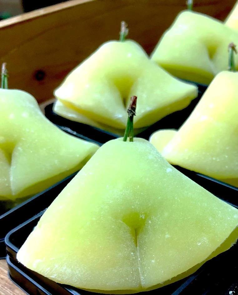 季節の生菓子10月 銀杏黄葉