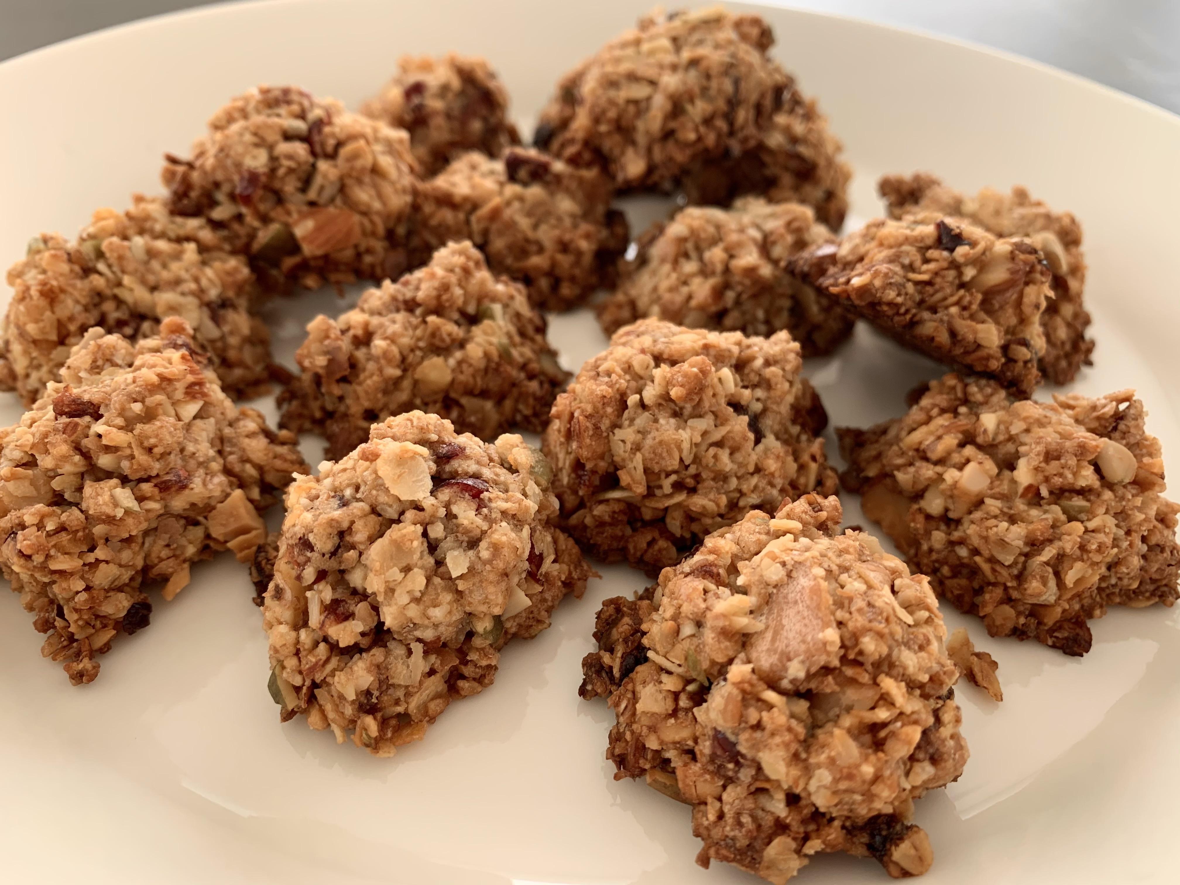 1月メニュー「メープルグラノーラクッキー」これ以上簡単なクッキーはないかも!?