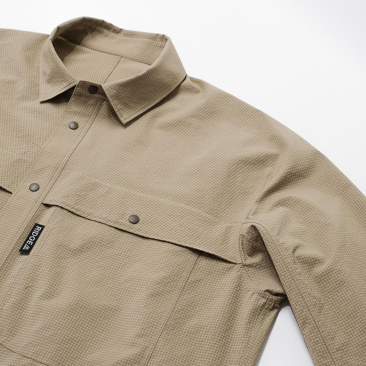 Big Pocket Long Sleeve Shirt