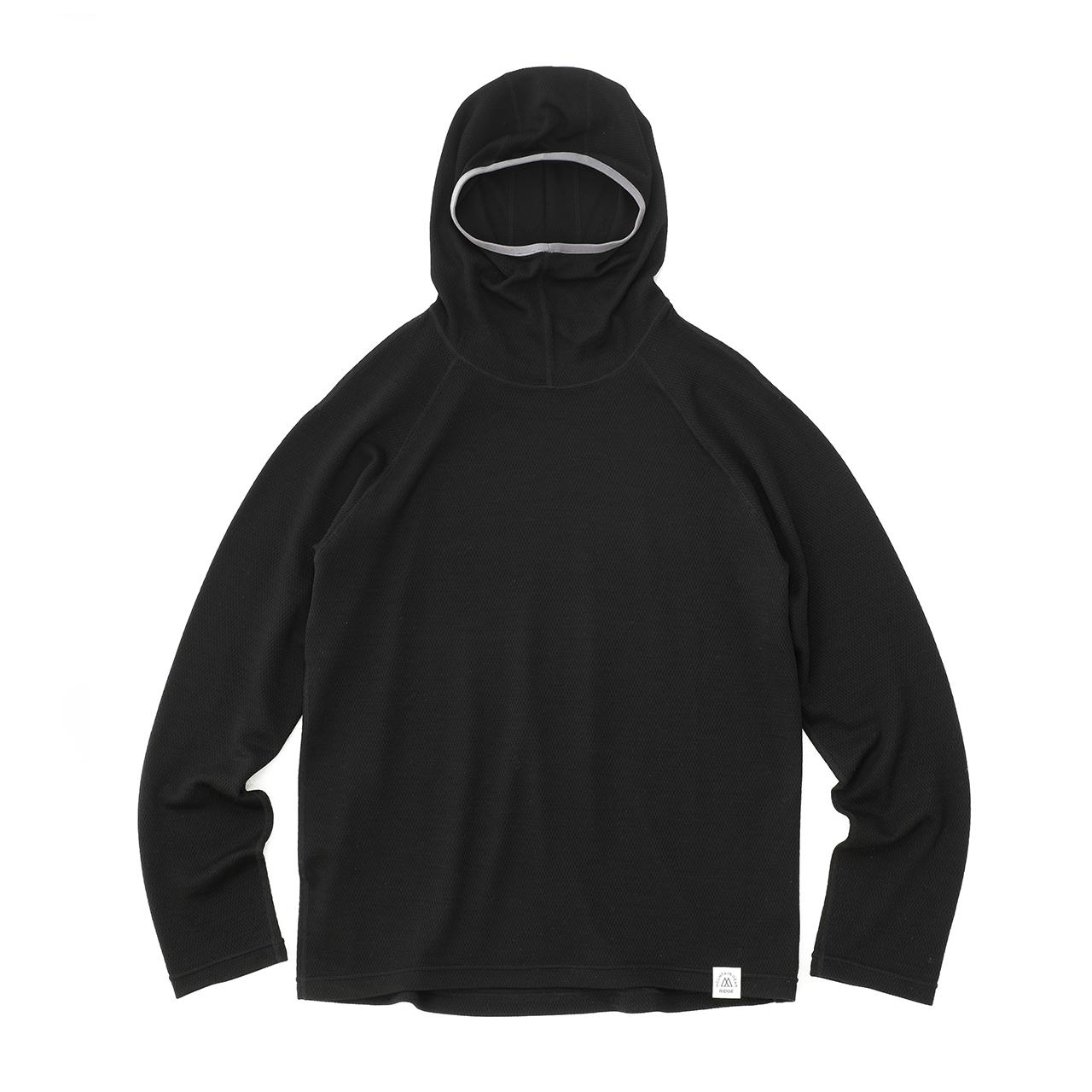 Test Product『Mesh Merino Pullover Hoodie』