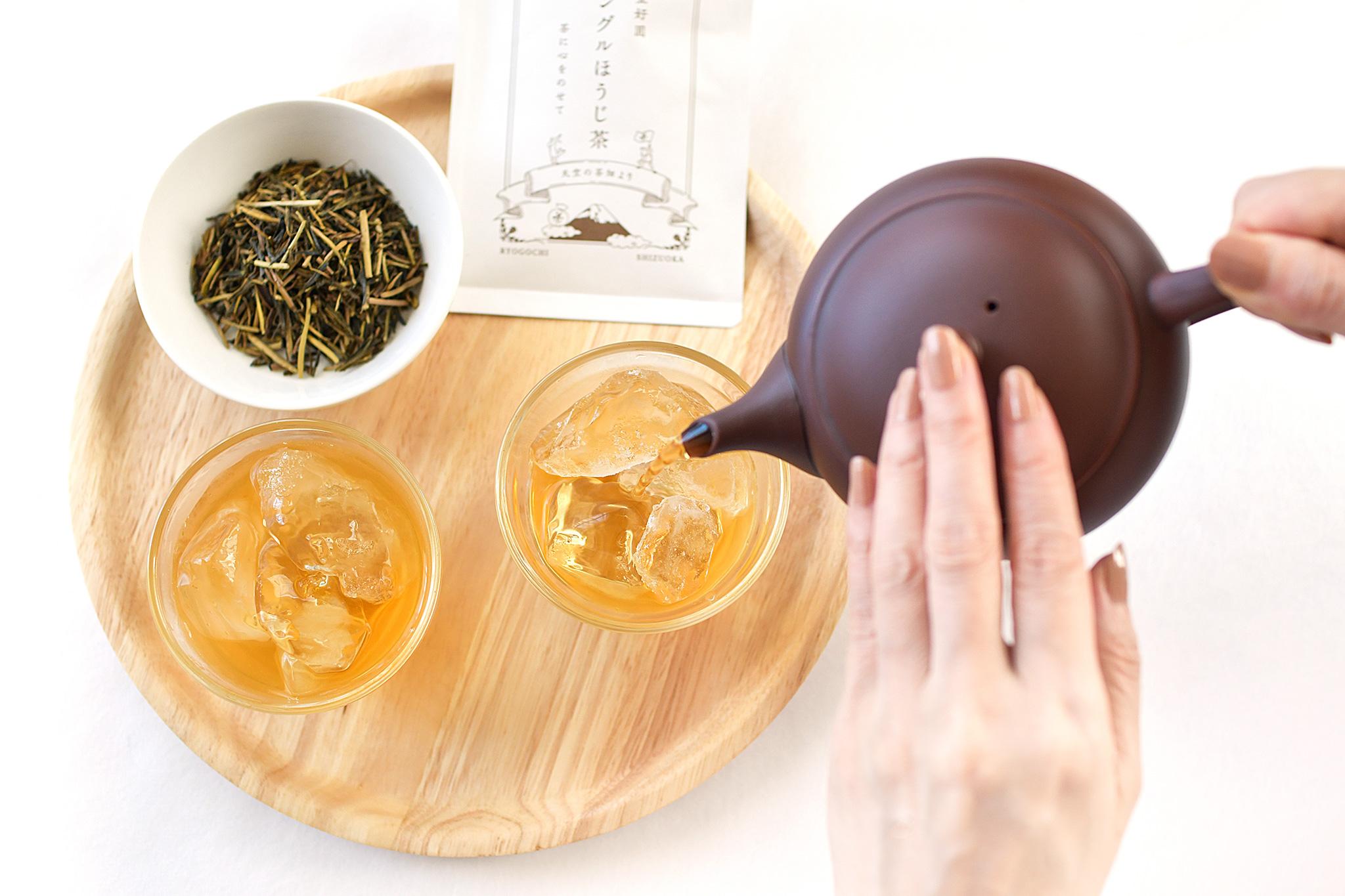 夏の黄金ほうじ茶で、圧倒的な「生の焙じ」感を体験!