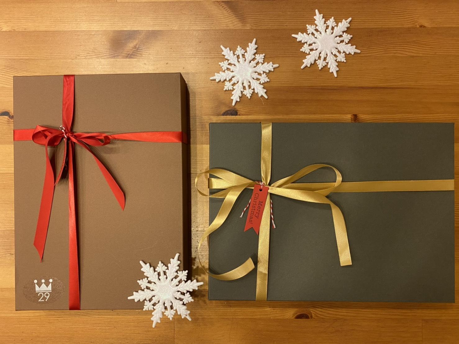 ***クリスマス仕様のパッケージが」できました!***
