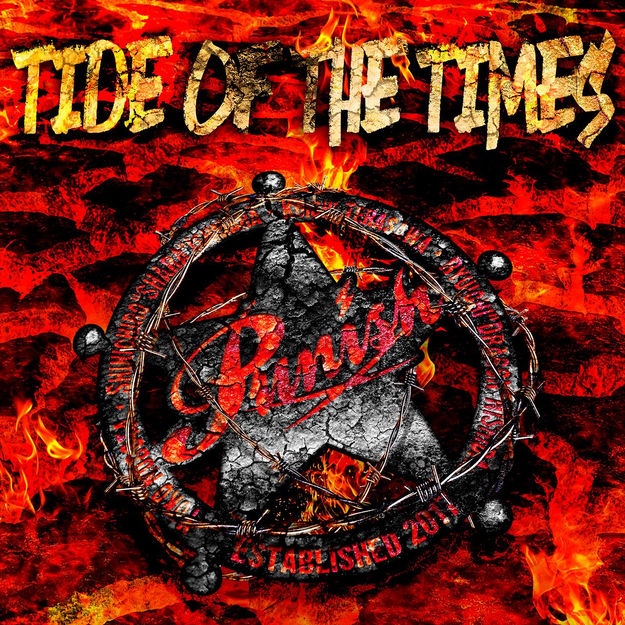 【お知らせ】CD:『TIDE OF THE TIMES』Punish 取扱店舗が増えました。