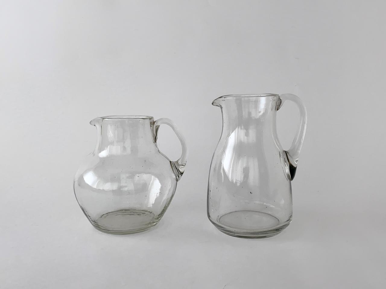 Vintage Clear jug |ヴィンテージのジャグ