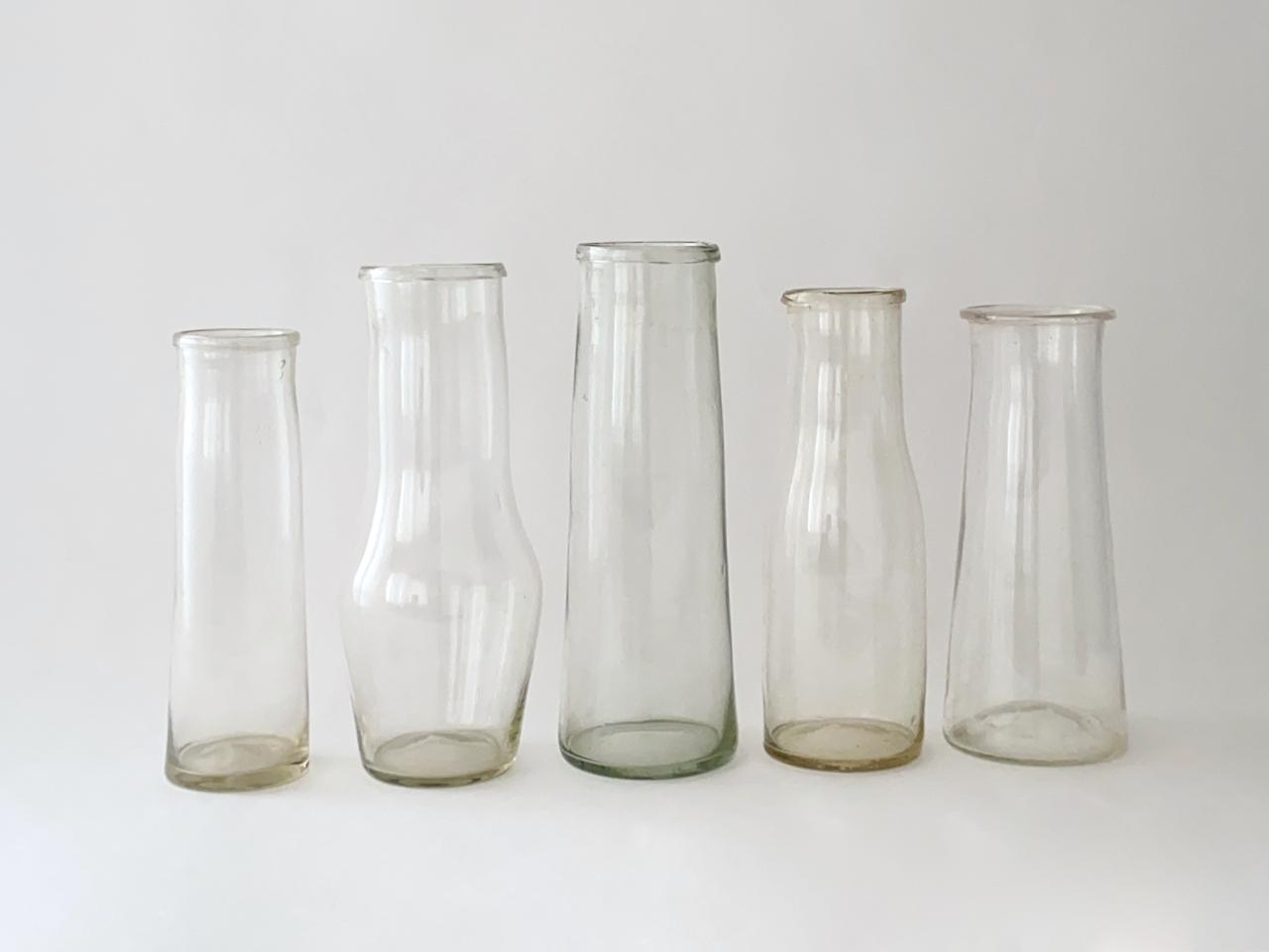 Vintage Milk Bottles|ヴィンテージの牛乳瓶