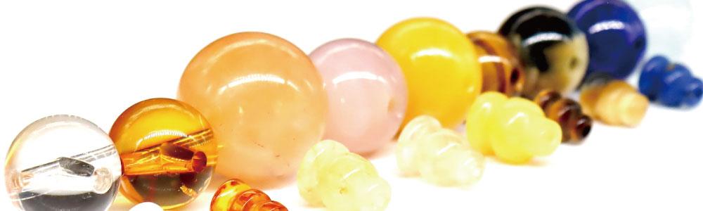 ■数珠パーツ(念珠道具)のご紹介 - MADE IN JAPAN