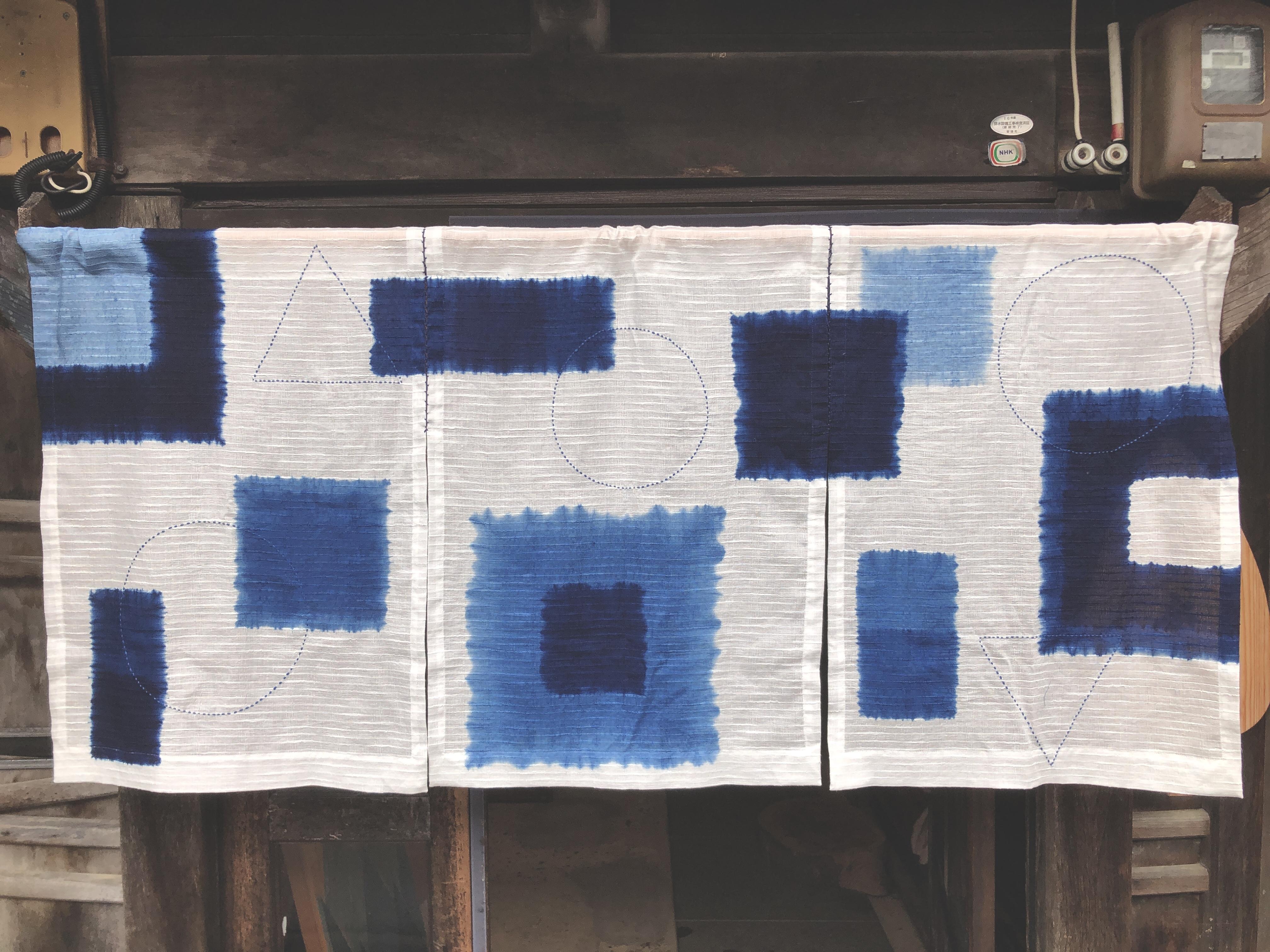 ポップな暖簾、北九州へ
