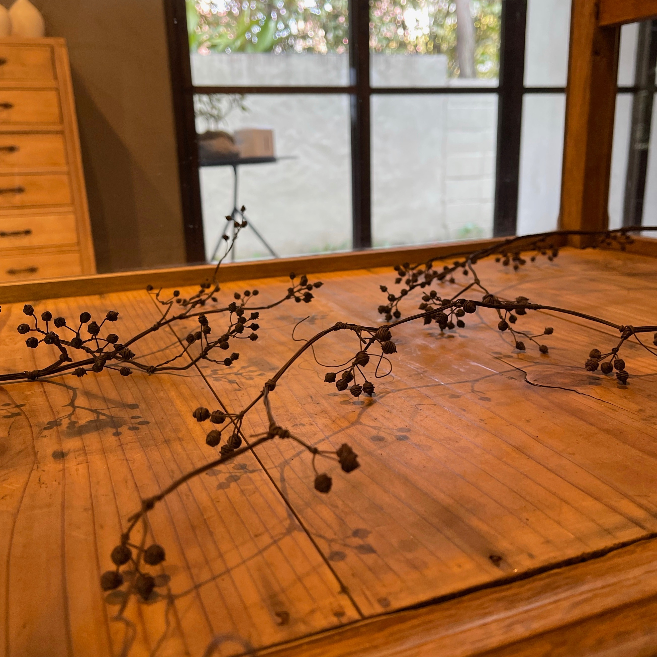lemon tree さんの針金アートワーク