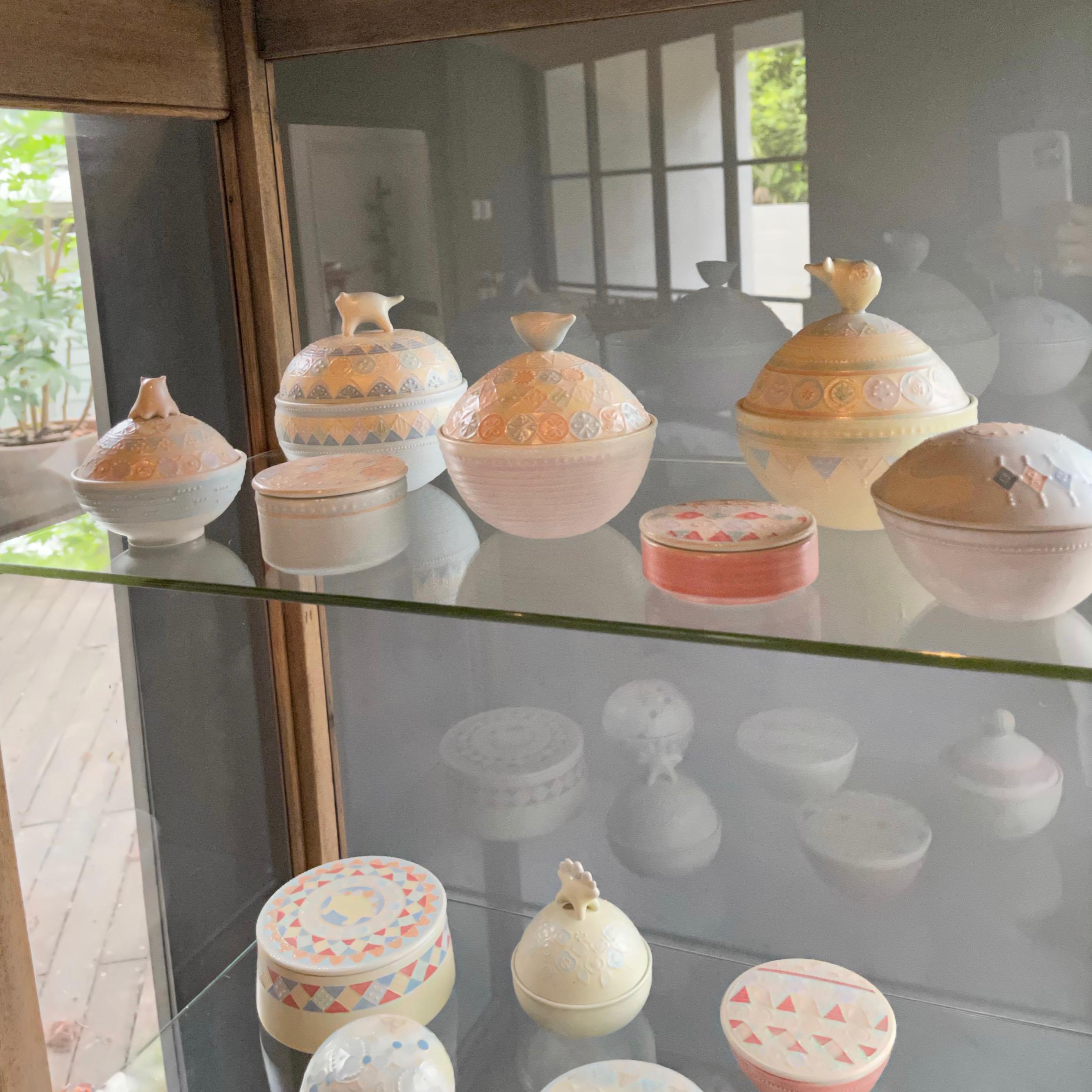 『ふたもの 展  4/15 - 4/21 』  中村かりんさんの 作品が並びました