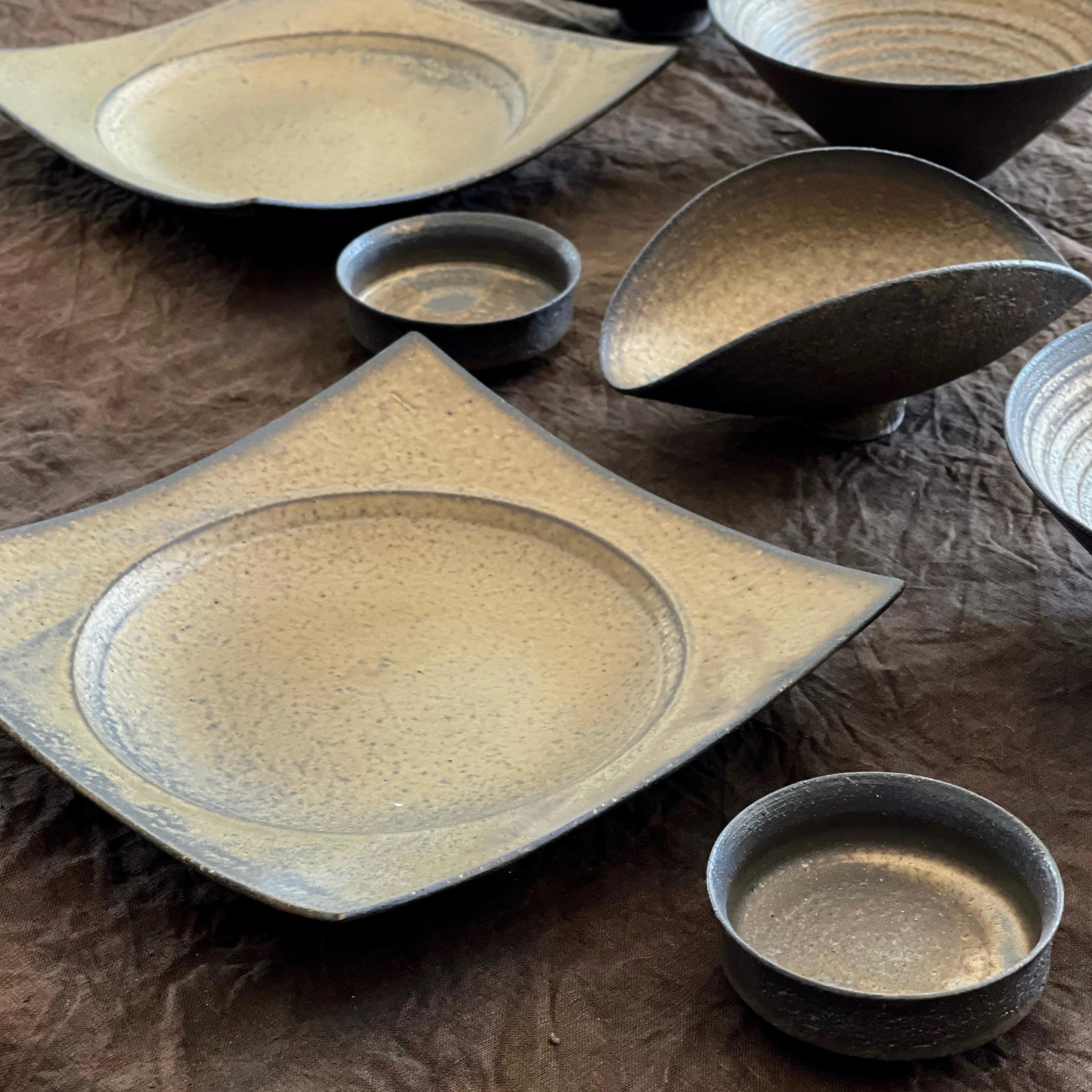水野幸一陶展 銅彩釉の作品が追加されました