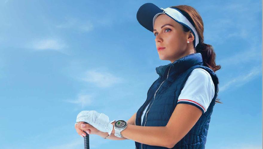女性も着けられるGPS ゴルフウォッチ、ガーミン「Approach S42」
