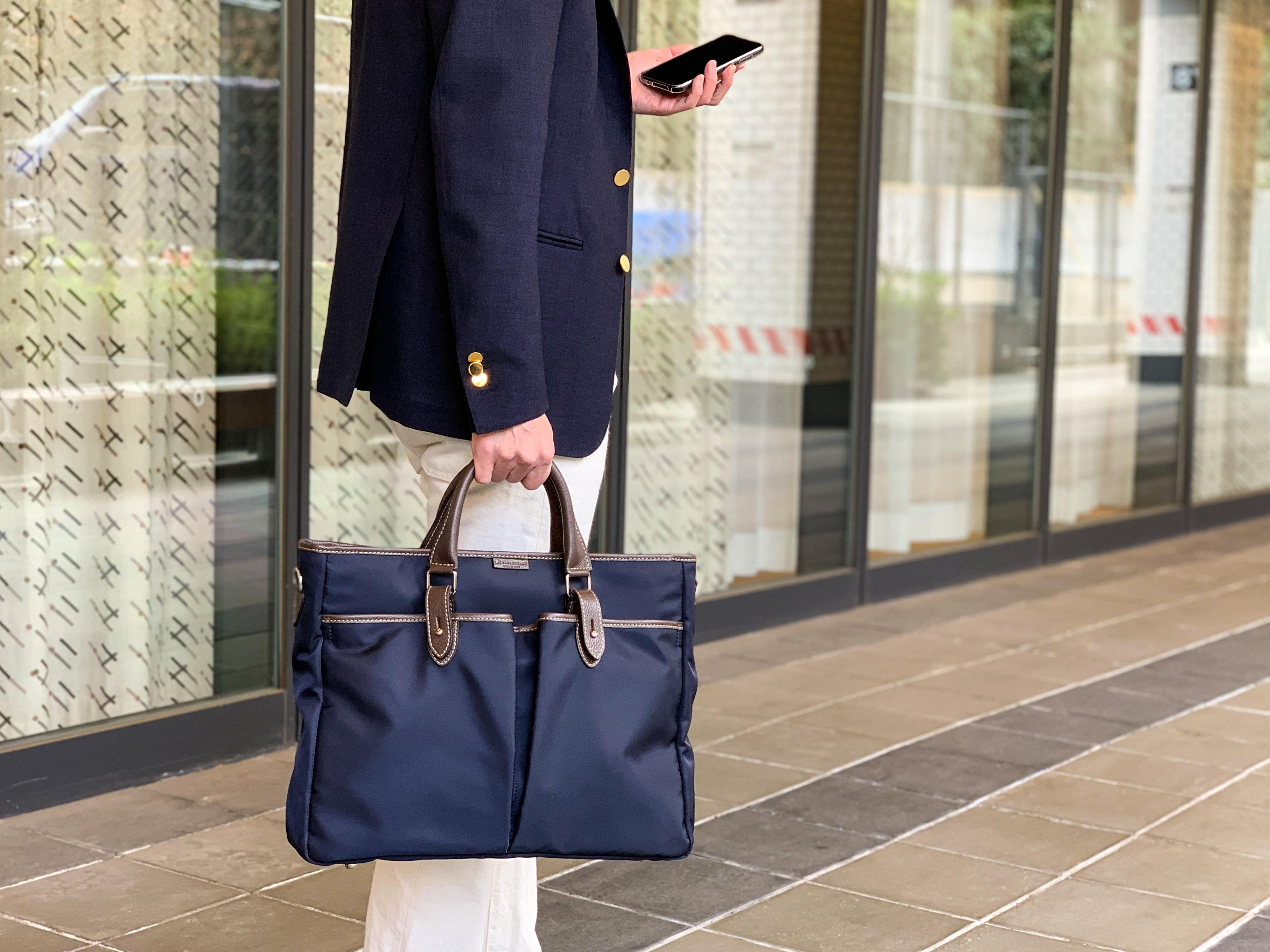 ステファノマーノのビジネスバッグ