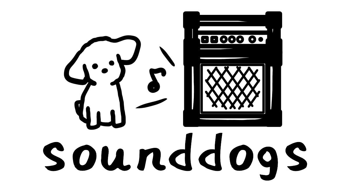 ロンジーホームページ開始記念 オリジナルTシャツ発売第二弾 Sounddogs