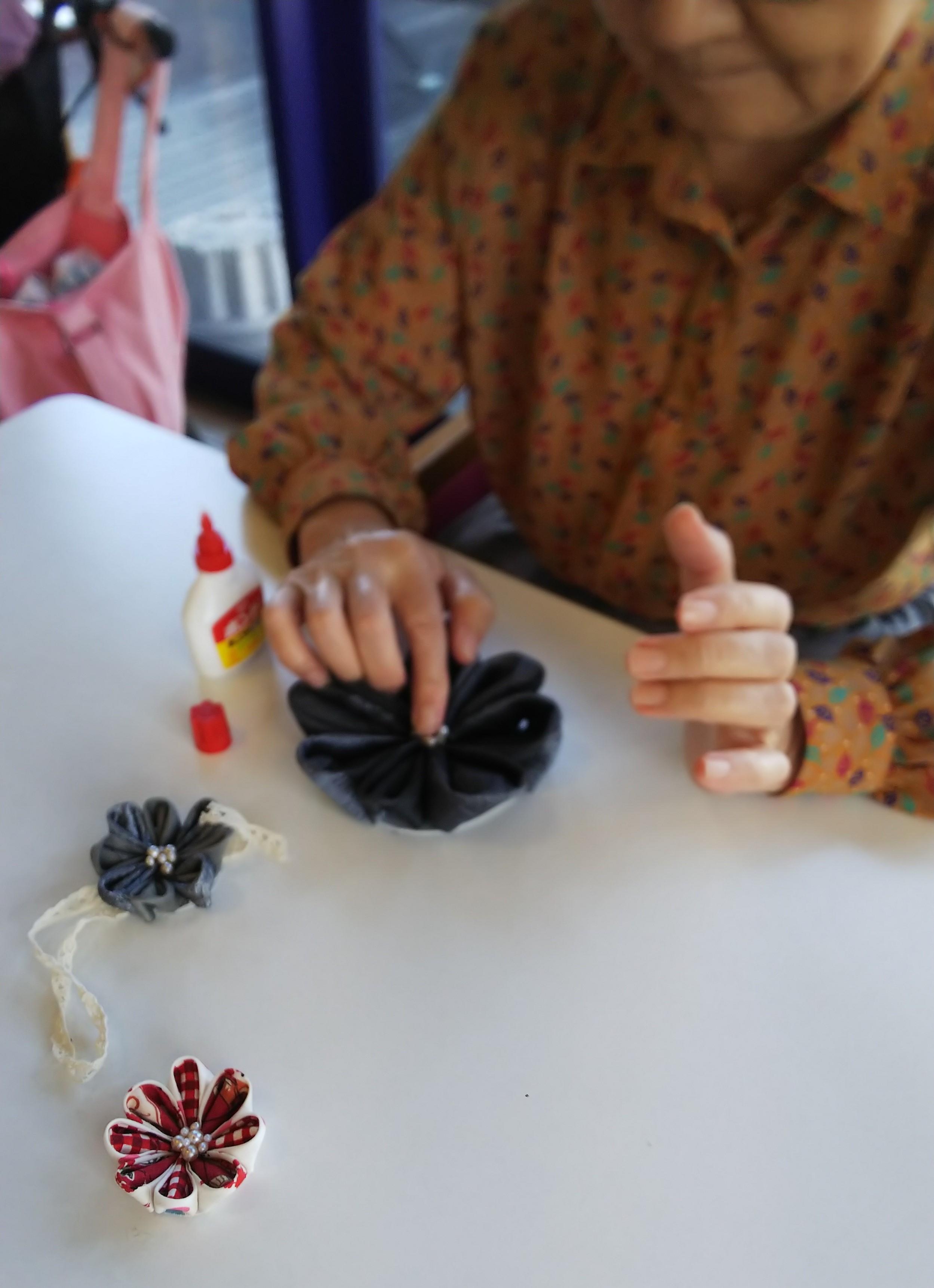 ●ZAMPU最新情報●社会福祉法人善光会様での手芸レクリエーション