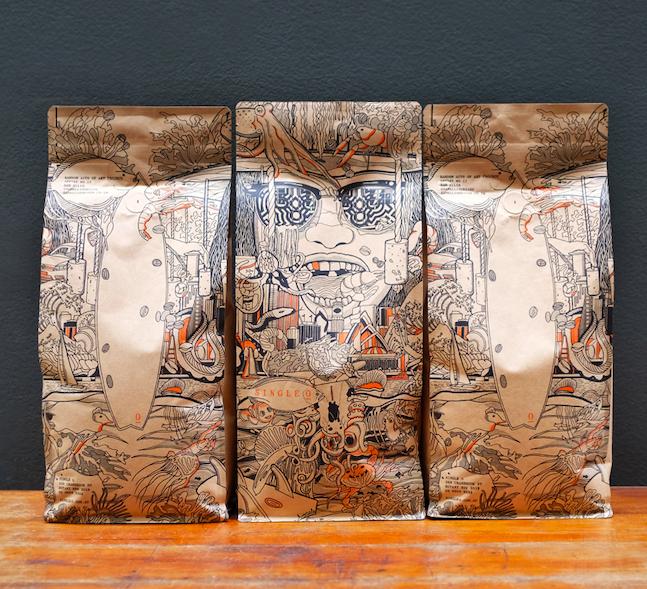 RAOA #17 コーヒーバッグアートプロジェクト!