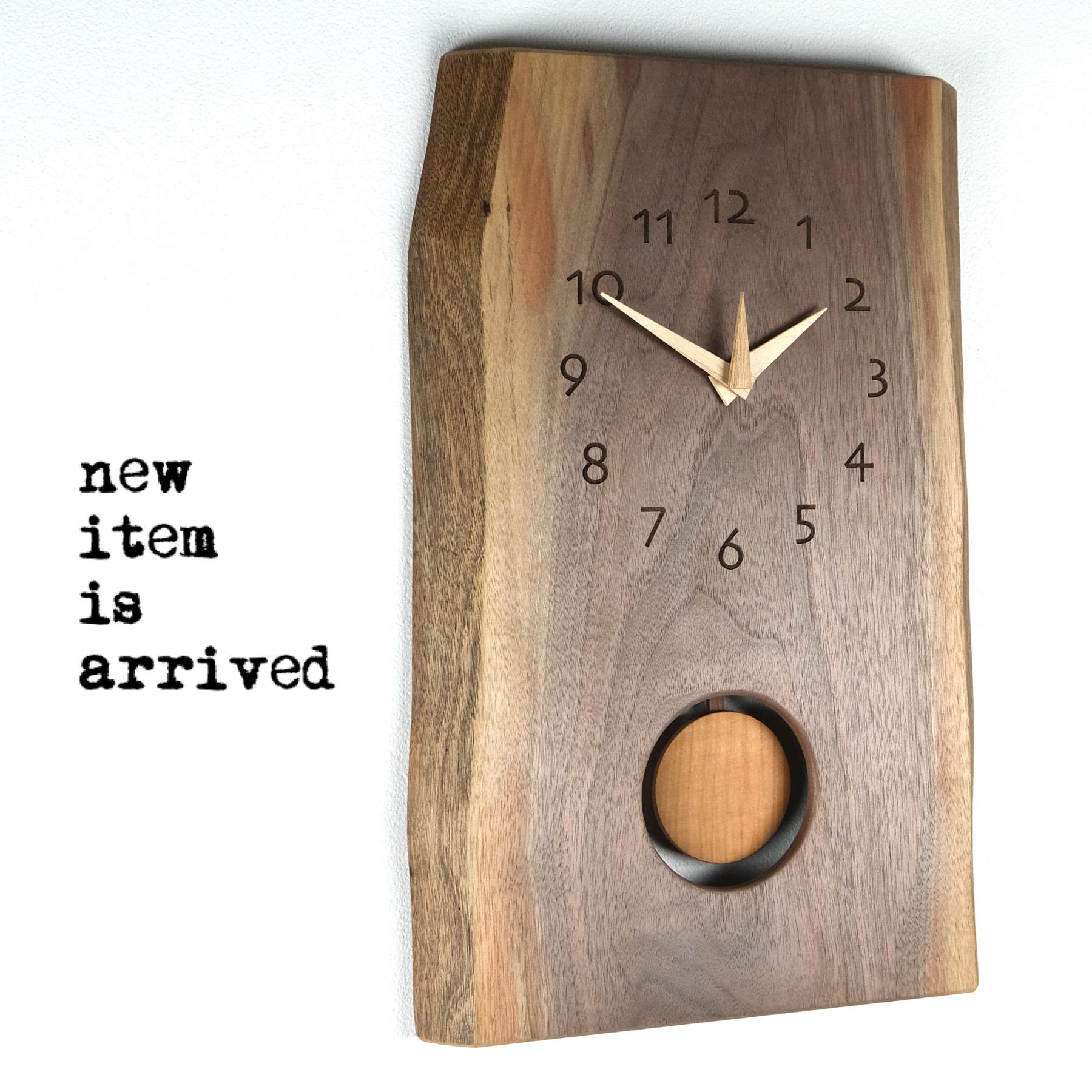 新作振り子時計入荷しました!