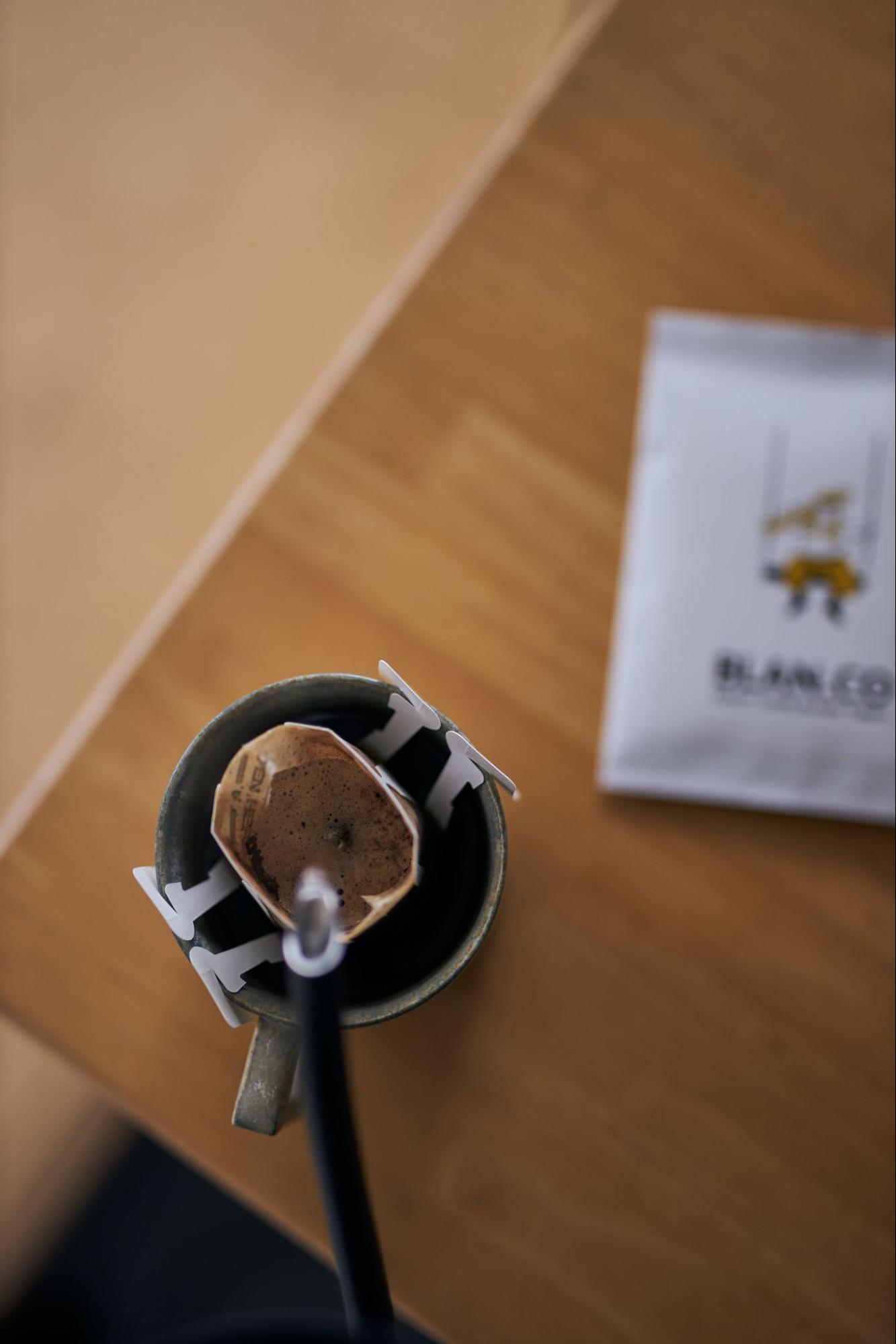 本格的な味わいをご自宅でも。ドリップパックコーヒー淹れ方をご紹介します。