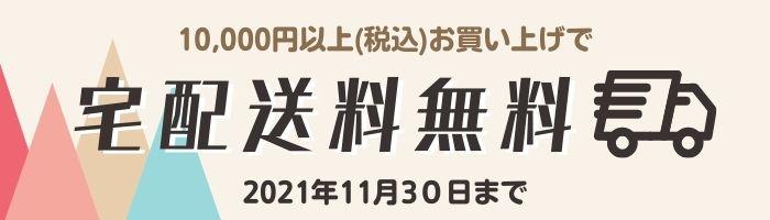 【11月30日まで】宅配送料無料キャンペーン
