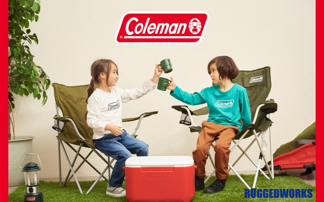 「Coleman」×「RUGGEDWORKS」 新作続々入荷 !!