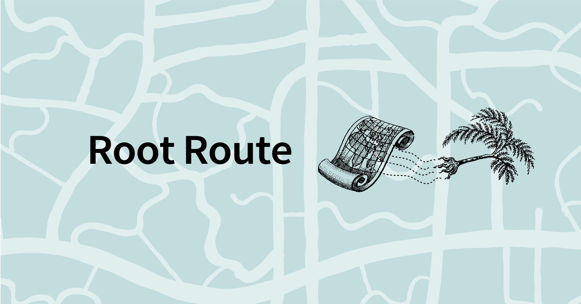 Root Route ー 旅ノ根 マッピング