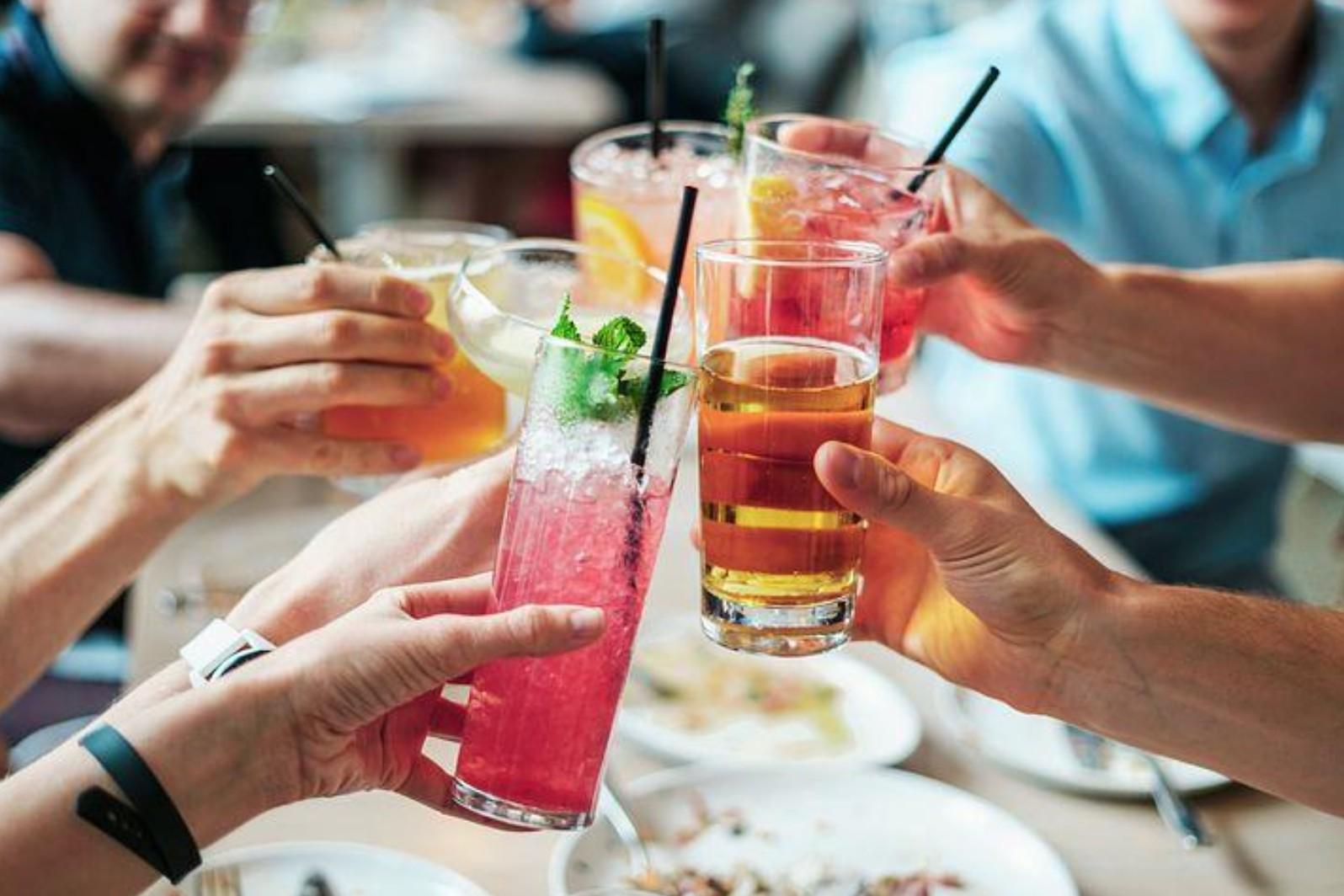 お酒と CBD の相性