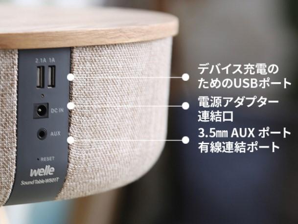 よくある質問:テーブルスピーカー(W301T, W501T) 充電の仕方
