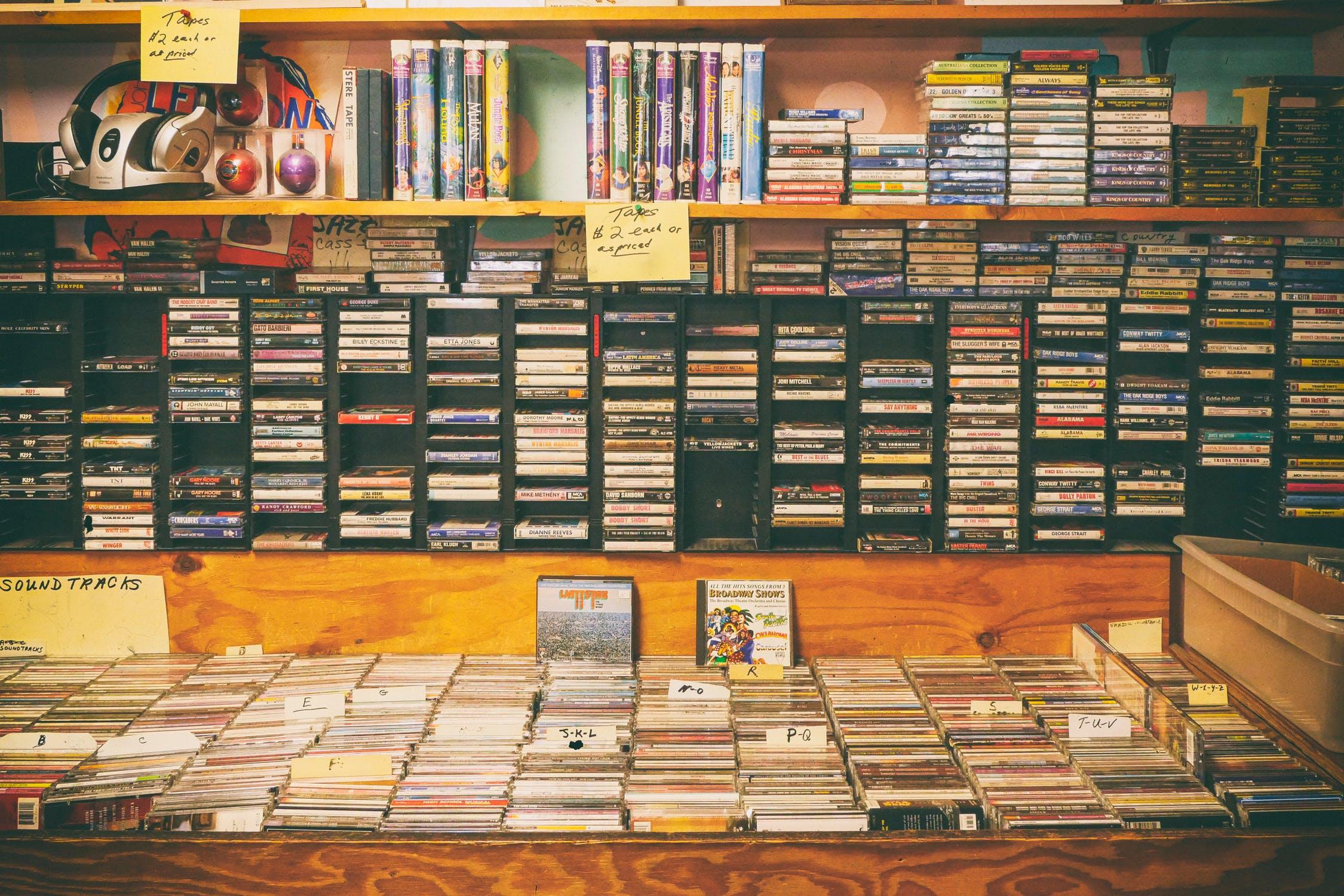 面白いオーディオ関連のコンテンツ:CDの発明