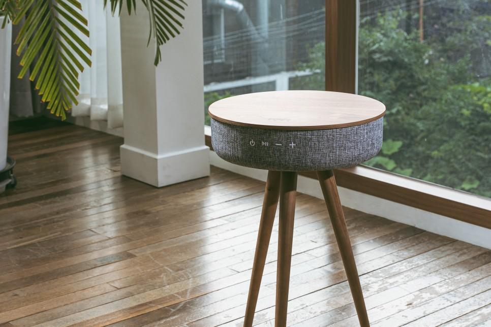 どうみてもテーブルにしか見えない高音質スピーカー。W301T、W501T。