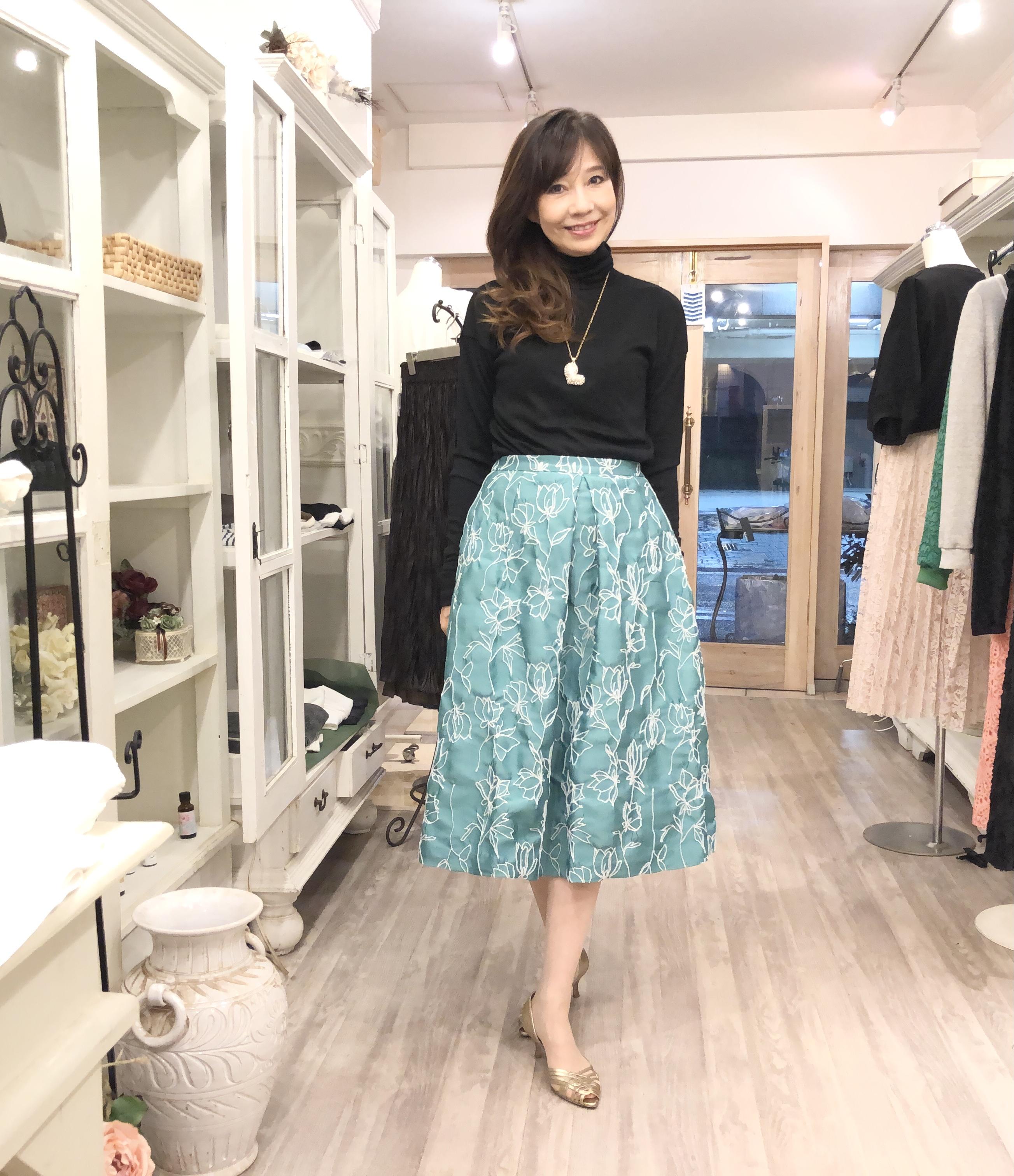 セタイチロウの秋の新作スカート♡