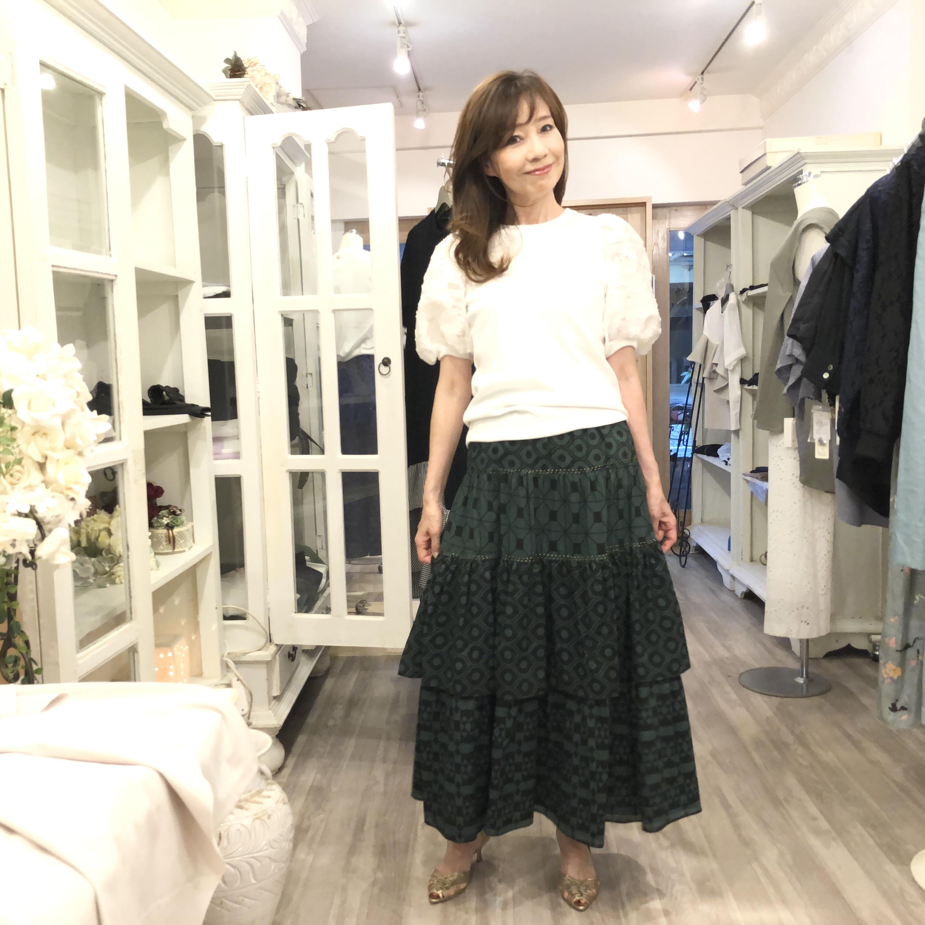 マリードールのエスニックなスカート♡