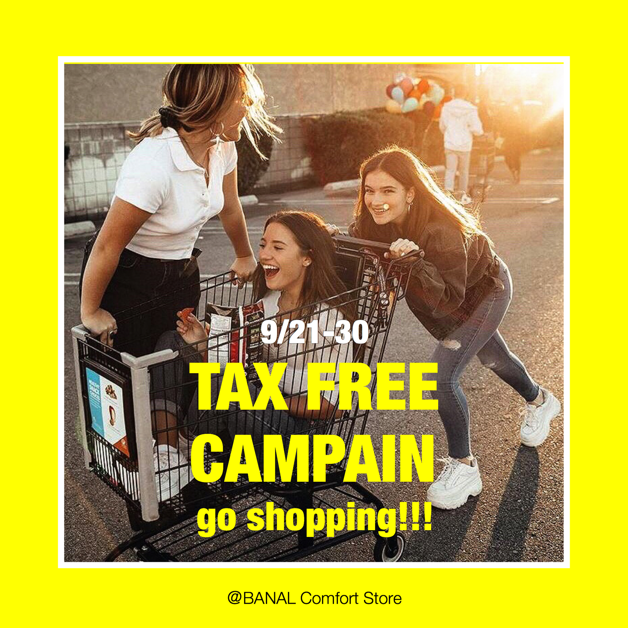 TAX FREE CAMPAIN