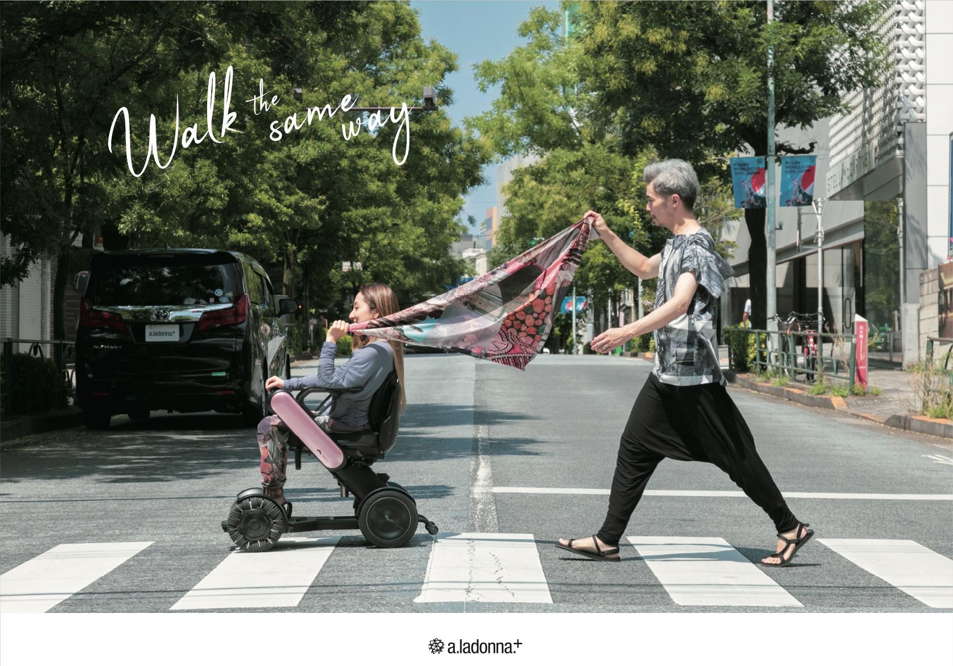 9月24.25.26日の3日間、a.ladonna.+バリアフリープロジェクトの展示試着会を開催