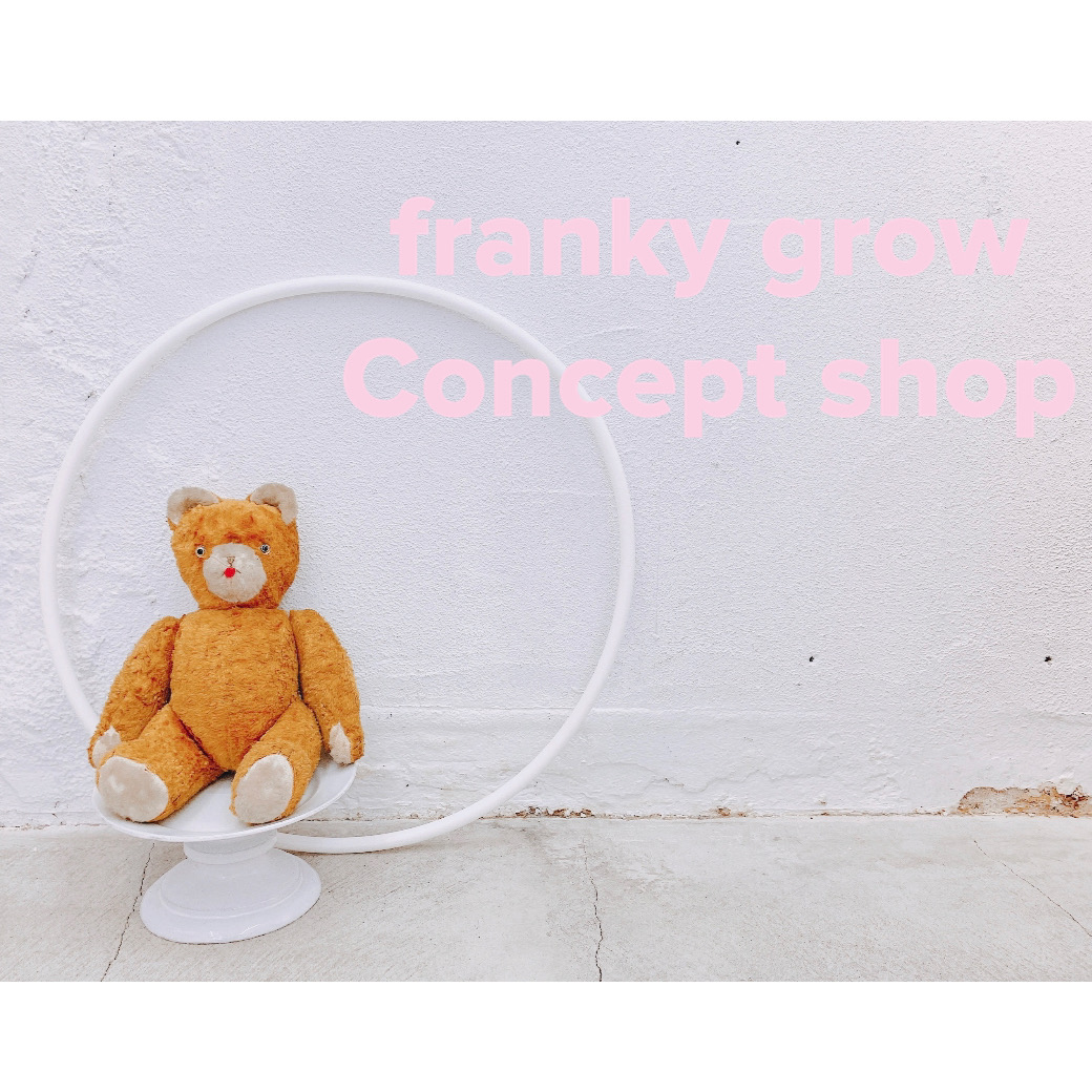 frankygrow concept shop TOKYO🐰