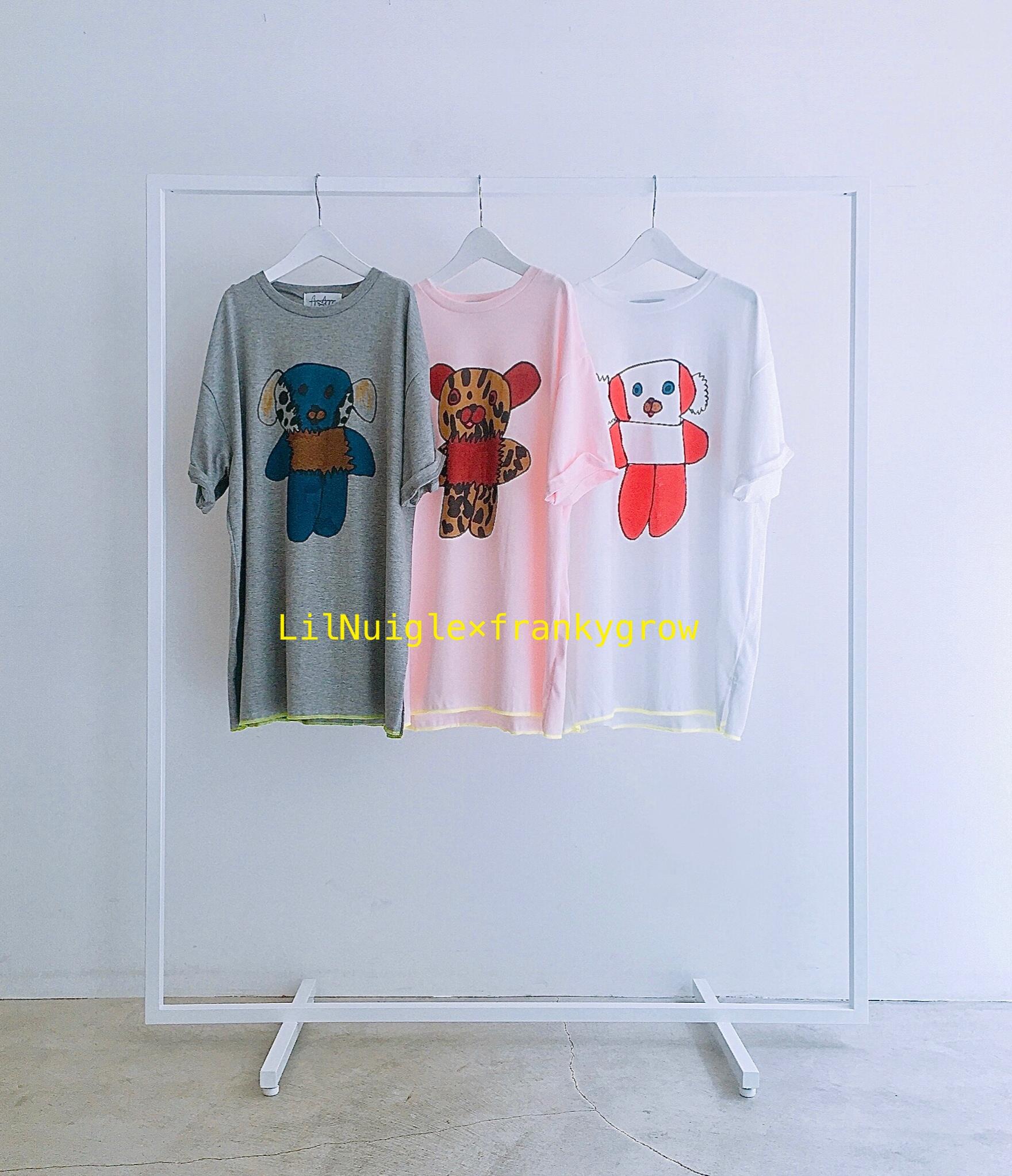 Tシャツ &Lil Nuigle ぬいぐるみ展 後半