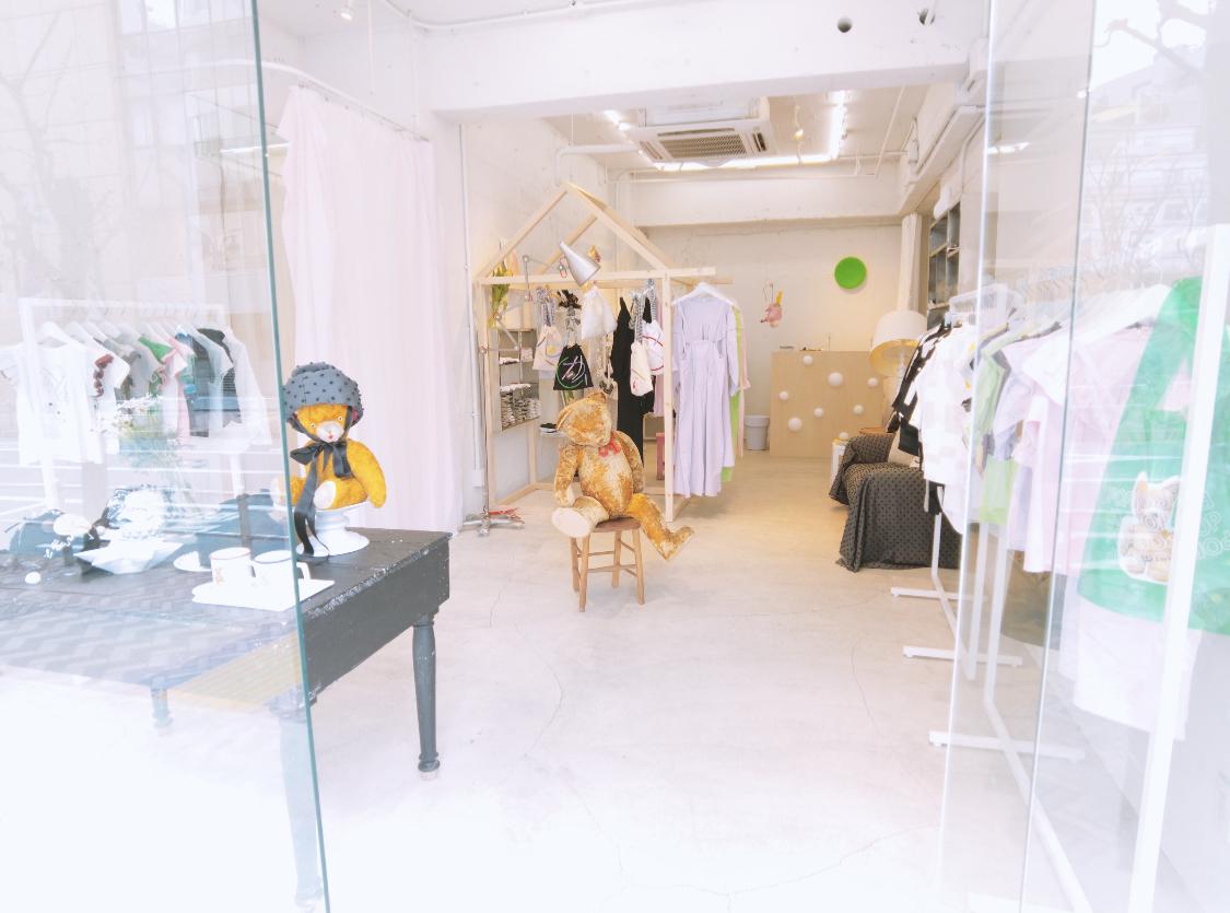 first day @frankygrow conceptshop TOKYO