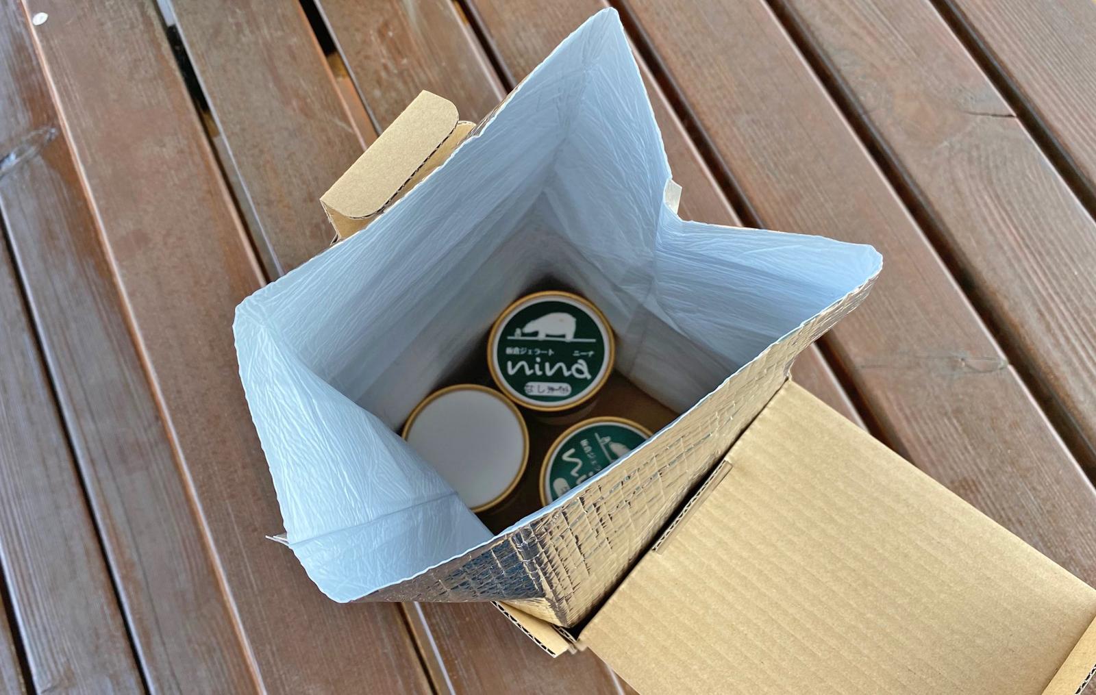 商品の梱包について