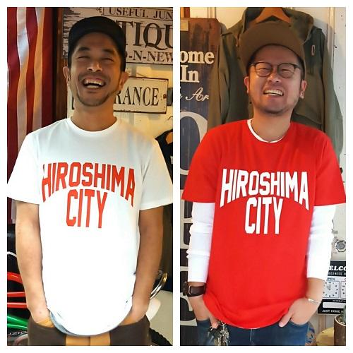 広島好きの、広島好きによる、広島好きのためのHIROSHIMA CITY Tシャツ!