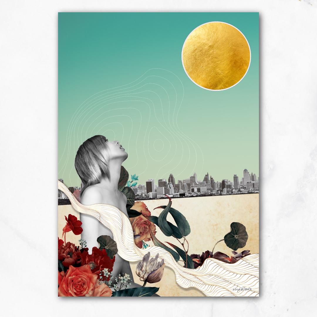 新作の【Lunarscape】キャンバスボードが購入可能になりました。