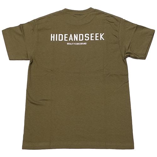 HIDEANDSEEK 21SS HS POCKET S/S TEE発売開始