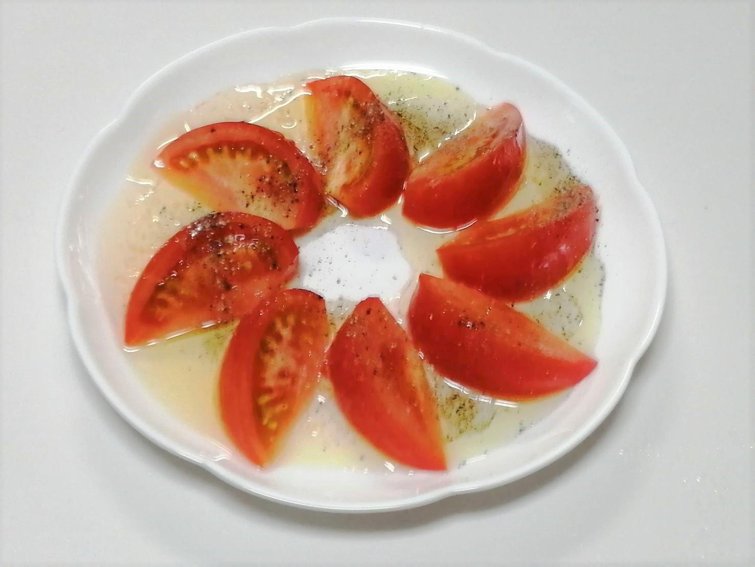 トマトのハニーマリネ レシピ