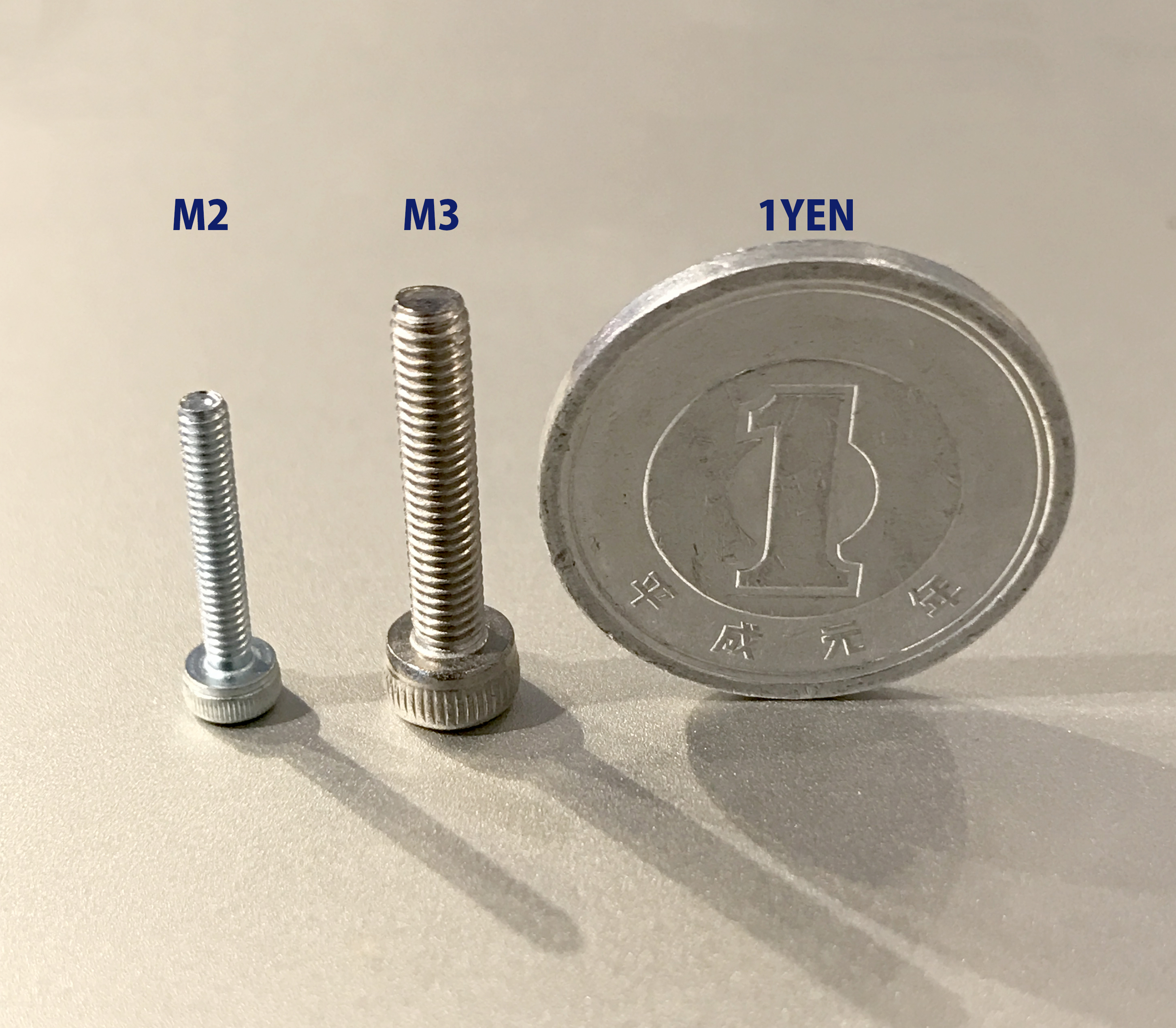 Lepton2でM3ボルトとM2ボルトを造形してみたら・・・!