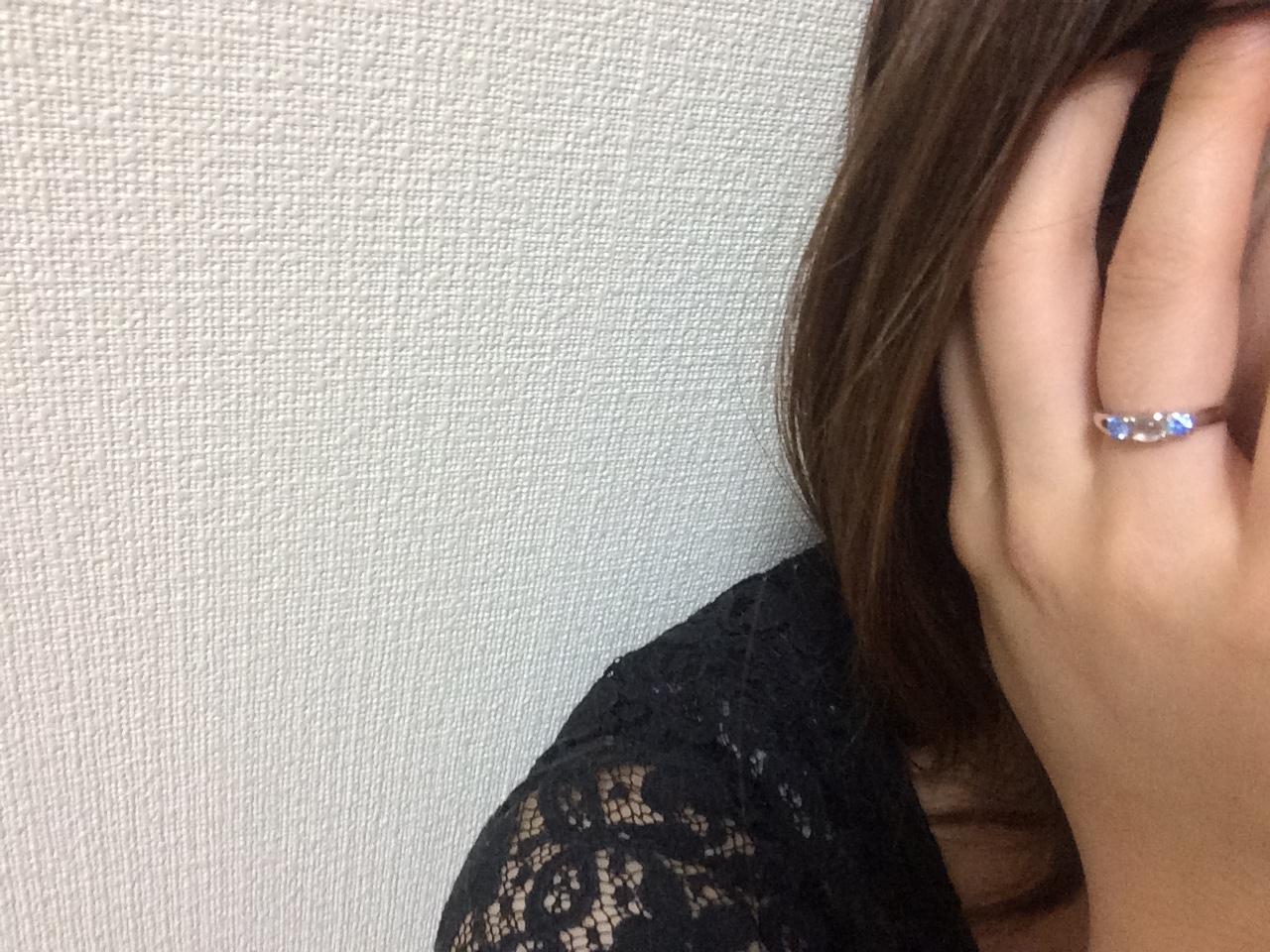 【大人女子必見!】パワーストーン効果×シンプルデザインのステキ女子リング♪