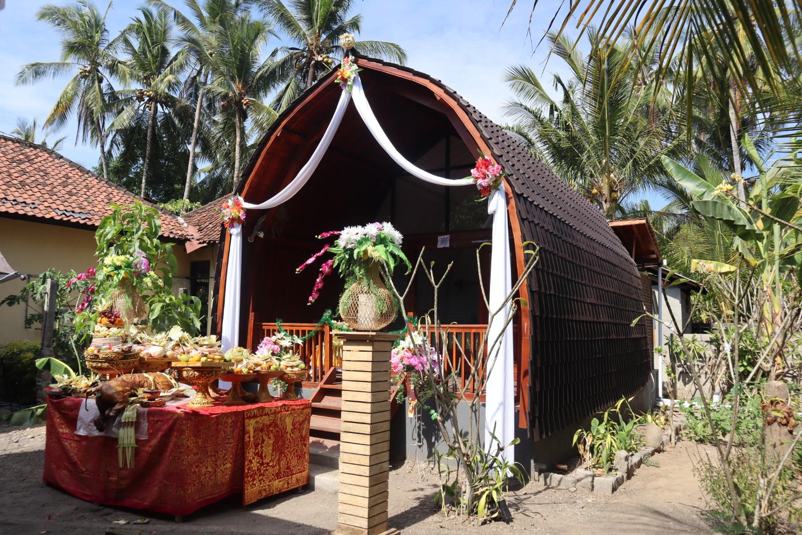 BALIISMのコテージがバリ島に完成しました!