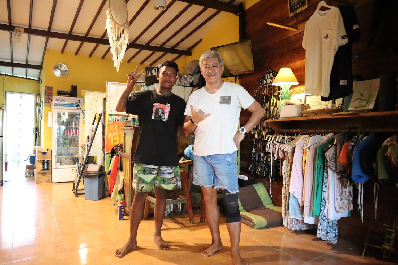 バリ島のサーフィンショップ 『Kubu Moana』で取り扱いが開始しました。