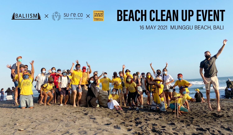 バリ島 Munggu Beachでビーチクリーンイベント実施しました!