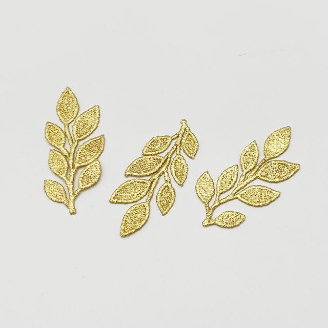 Gold-Knot 金箔とプラチナ箔のレースモチーフを販売開始!