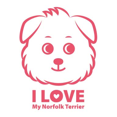 <I LOVE MY Norfolk Terrier> シリーズができました!