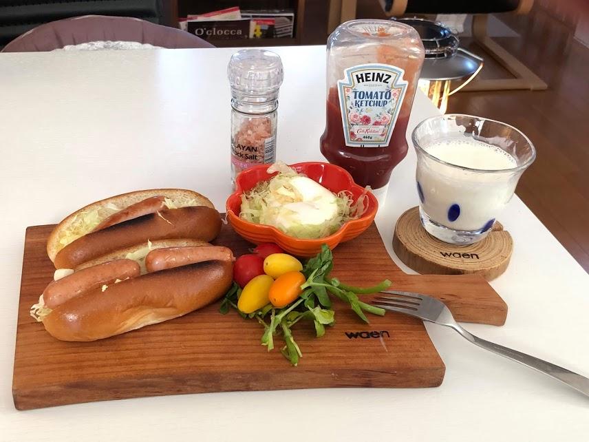 【おうちカフェ】waenカッティングボードでワンプレートご飯♪
